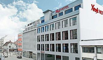 Yess! i Kristiansand blir First-hotell