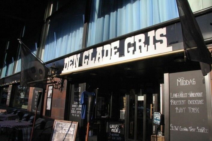 Den Glade Gris. (Foto: Morten Holt)