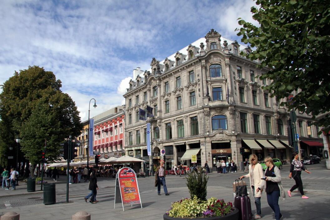 Best Western Karl Johan Hotell. (Foto: Morten Holt)