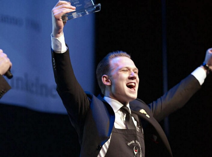 Kristoffer Aga fra Colonialen i Bergen sørget for NM-triumf i juniorklassen. (Foto: Torjus Berglid)