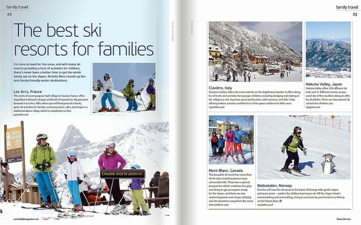 Fra det siste inflight-magasinet til Qatar Airways.