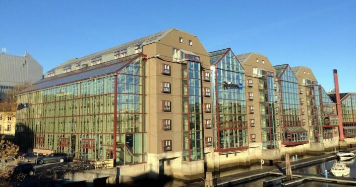 Hotellet ble åpnet i 1984. (Foto: Morten Holt)
