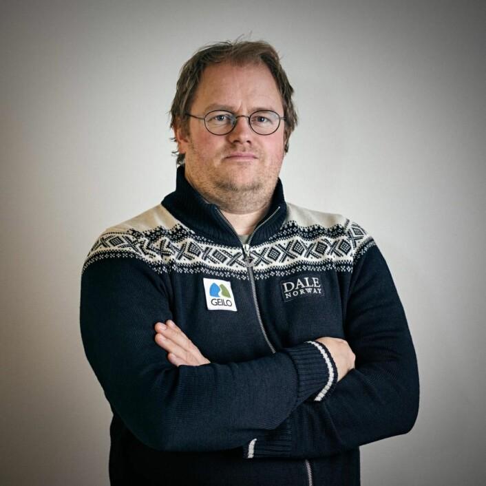 Turistsjef for VisitGeilo, Pål Knutsson Medhus.