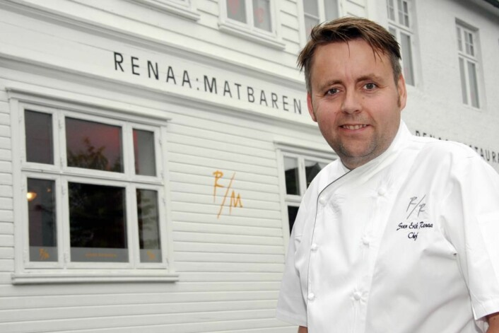 Sven Erik Renaa utenfor lokalene til RE-NAA i Stavanger. (Arkivfoto: Morten Holt)