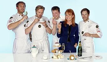 Norsk-engelsk te-samarbeid