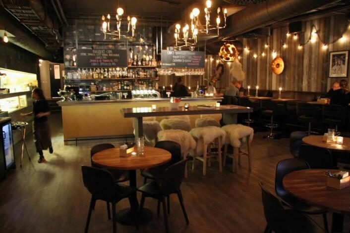 Caya Restaurant & Bar i Trondheim. (Foto: Morten Holt)