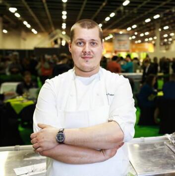 Eero Vottonen fra Michelin-restauranten Olo er Finlands deltaker i Bocuse d'Or.