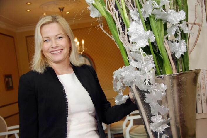 Fredrikke Næss, som er hotelldirektør på Grand Hotel, ser frem mot premieren. (Foto: Morten Holt)