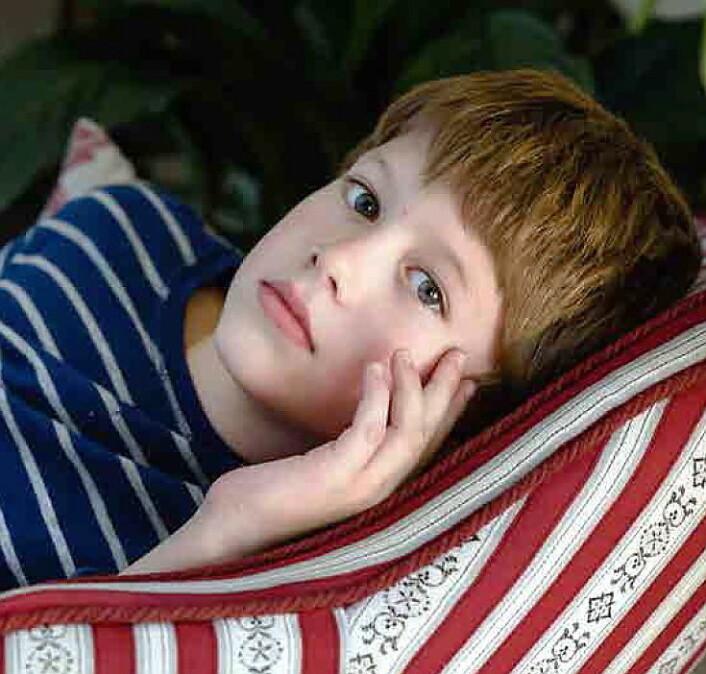 10 år gamle Håkon Böhmer fra Lørenskog har en sentral rolle i filmen.