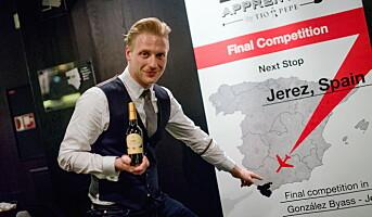 Himkok-bartender vant sherry-konkurranse
