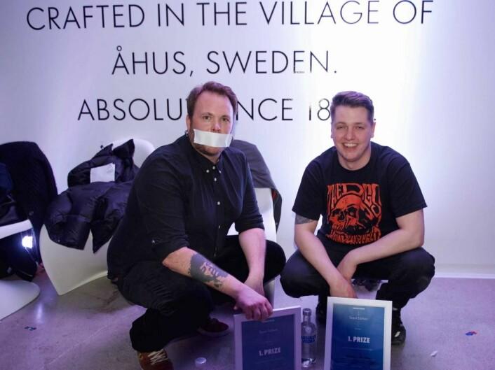 Simon Selvik og Øystein Gaasemyr skal representere Norge i den internasjonale finalen av Absolute Invite 2016.
