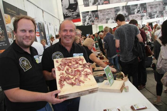 Mathias Olsen og Halvor Olsen på Holte Gård er en av mange anerkjente lokalmatprodusenter. (Foto: Morten Holt)