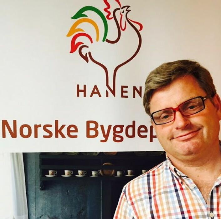 Daglig leder Bernt Bucher-Johannessen i næringsorganisasjonen Hanen. (Foto: Hanen)