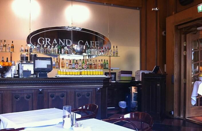 Grand Café på Grand Hotel skal driftes av Fursetgruppen. (Foto: Morten Holt)