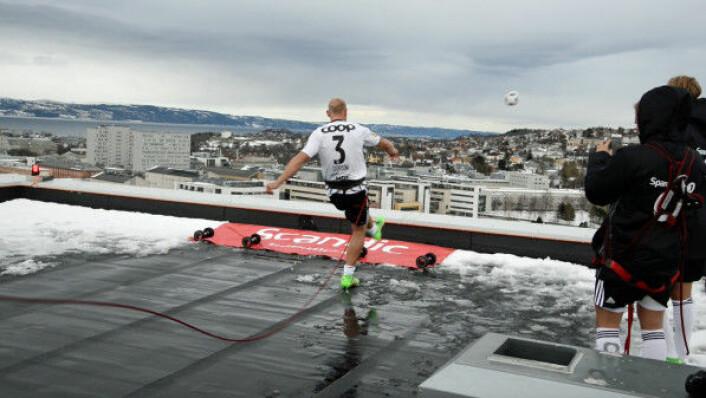 En volley fra Scandic Lerkendal tar av i sosiale medier. (Foto: Scandic Hotels)