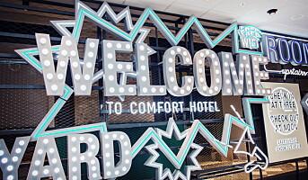 Comfort Hotels åpnet nytt flaggskip