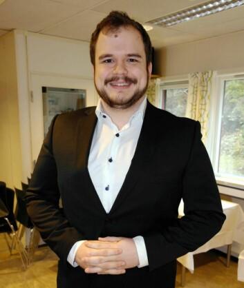 Tim Drew fra Tjuvholmen Sjømagasin vant klassen for vinkelnere.