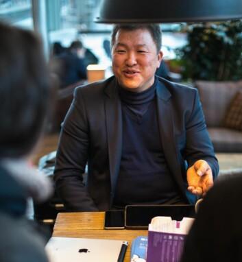 Lars Friis er direktør i eSmiley.