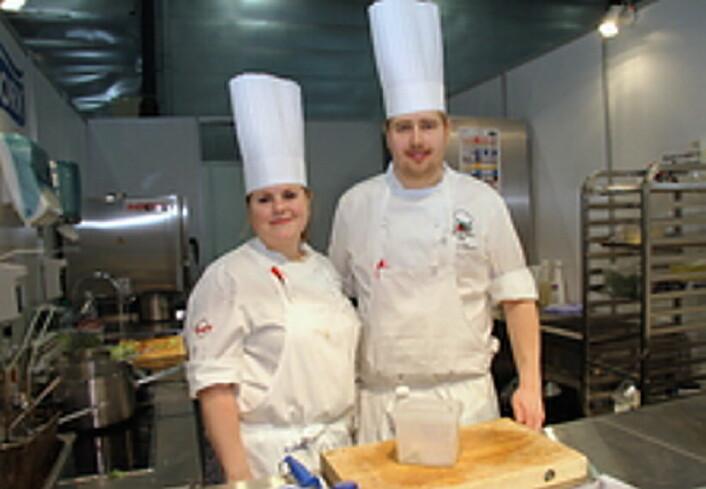 Renee B. Fagerhøi sammen med Thomas J.Borgan. (Foto: Morten Holt)
