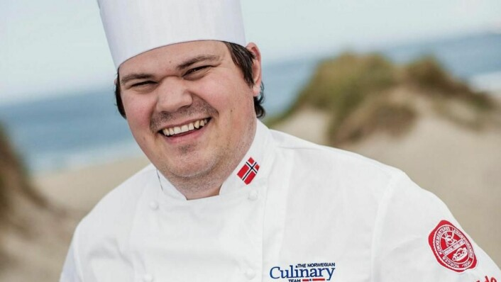 Halvar Ellingsen ble nummer to i Top Chef 2016 - etter en jevn finale. (Foto: NKL/arkiv)