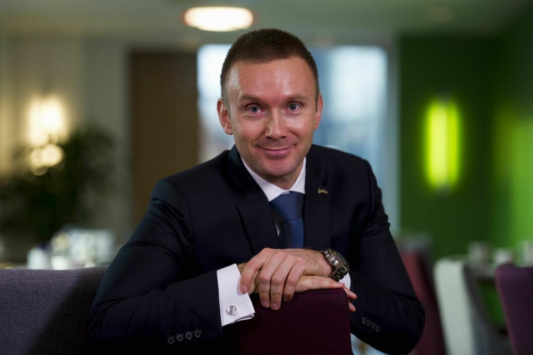 Torbjørn Marthinussen blir ny hotelldirektør på Park Inn by Radisson i Oslo.