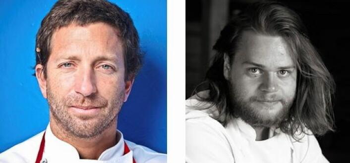 Diego Munoz og Magnus Nilsson kommer til Sjømat på Sørlandet i neste uke.