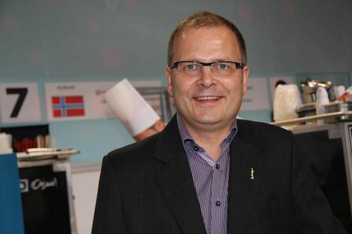 Daglig leder i Stiftelsen Bocuse d'Or Norge, Arne Sørvig. (Foto: Morten Holt)