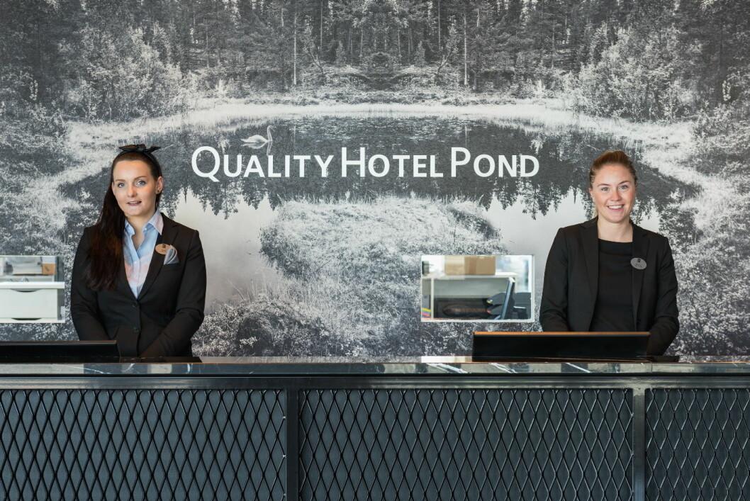Quality Hotel Pond ble offsielt åpning torsdag 7. april 2016.
