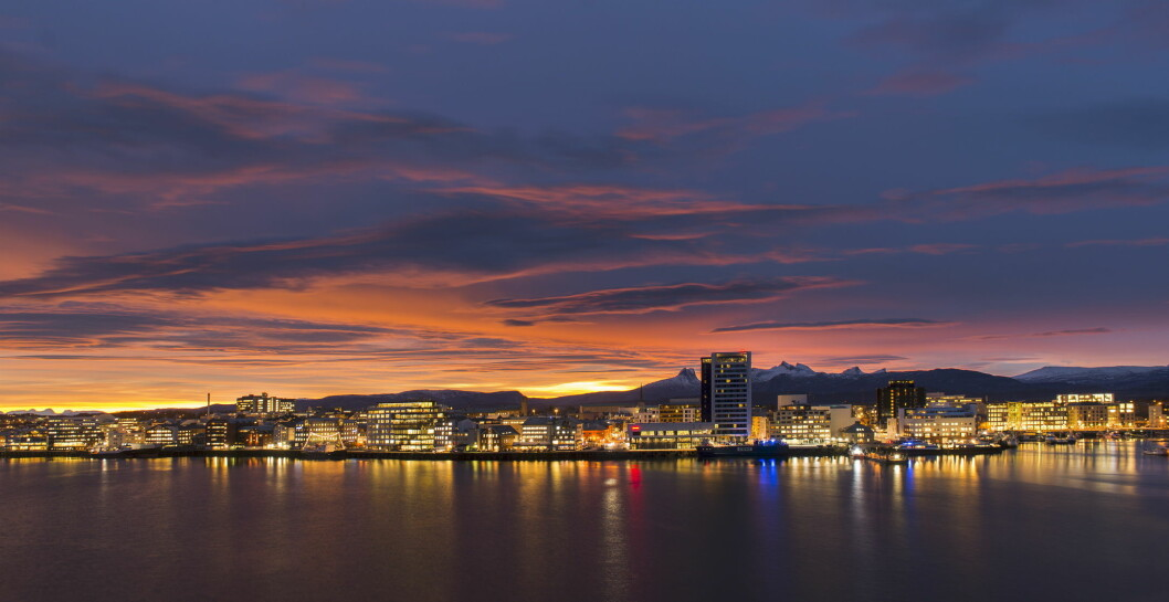 Bodø. (Foto: Ernst Furuhatt)