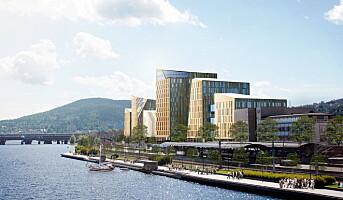 Kapret stort hotellprosjekt i Drammen