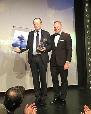 Kjetil Vassdal har mottatt prisen.