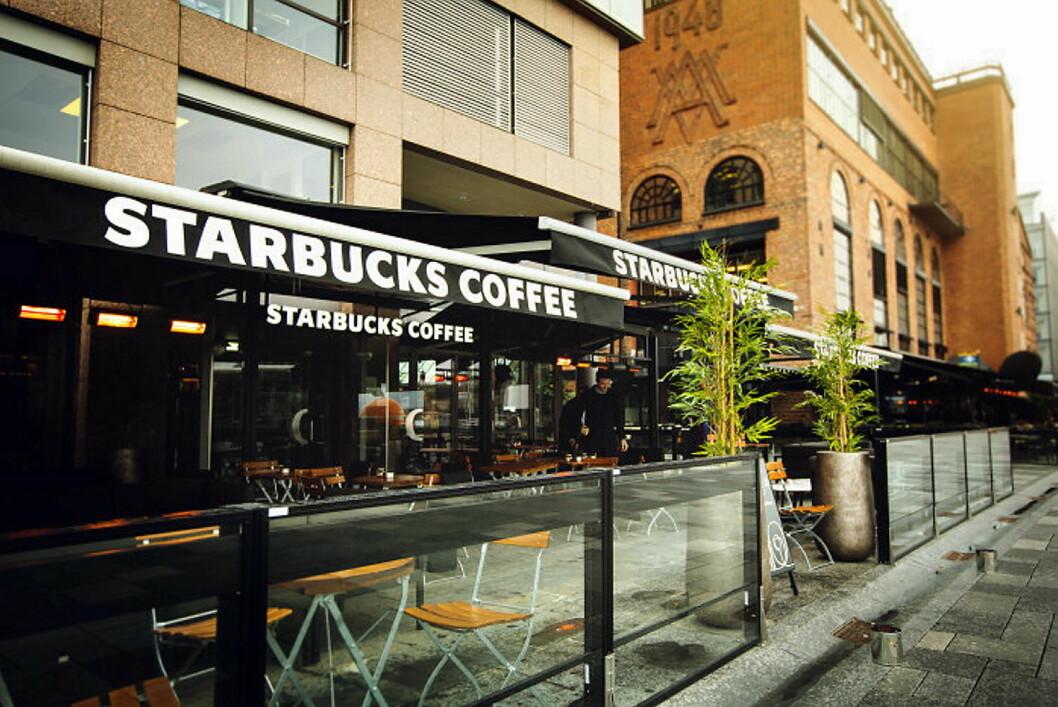 Starbucks på Aker Brygge (Foto: Peter Solnør/Starbucks Norge)