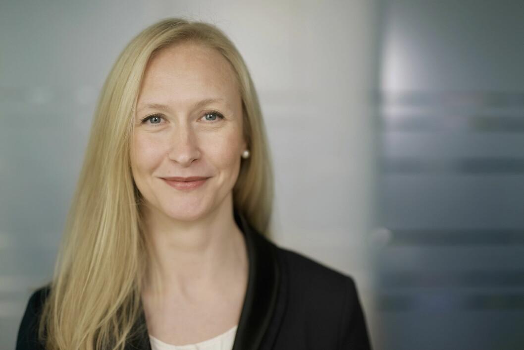 Renate Larsen skal lede Norges sjømatråd. (Foto: CF Wesenberg Kolonihaven)