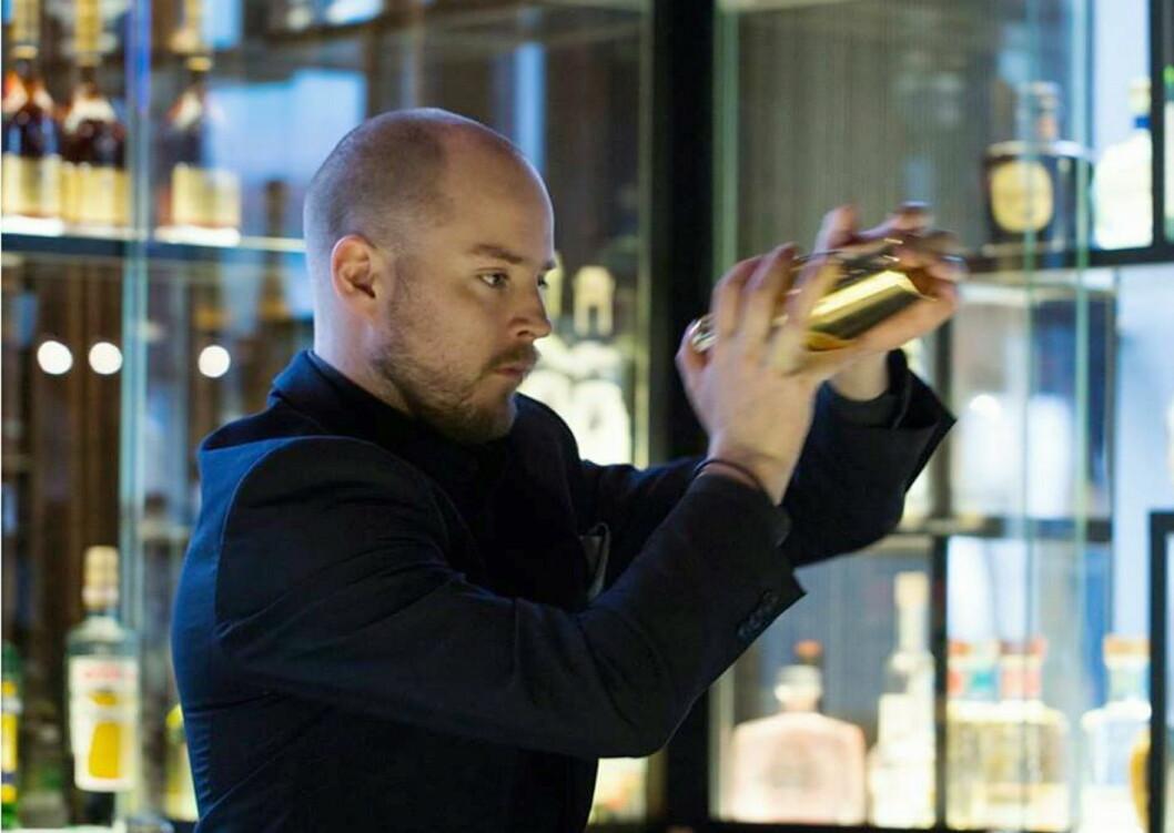 Chris Grøtvedt, barsjef på The Thief, står bak Oslo Bar Show.