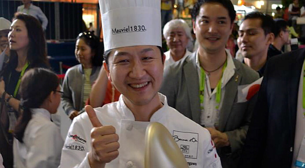 Kotaro Hasegawa fra Japan vant Bocuse d'Or Asia Pacific 2016. (Foto. Finedininglovers.com)