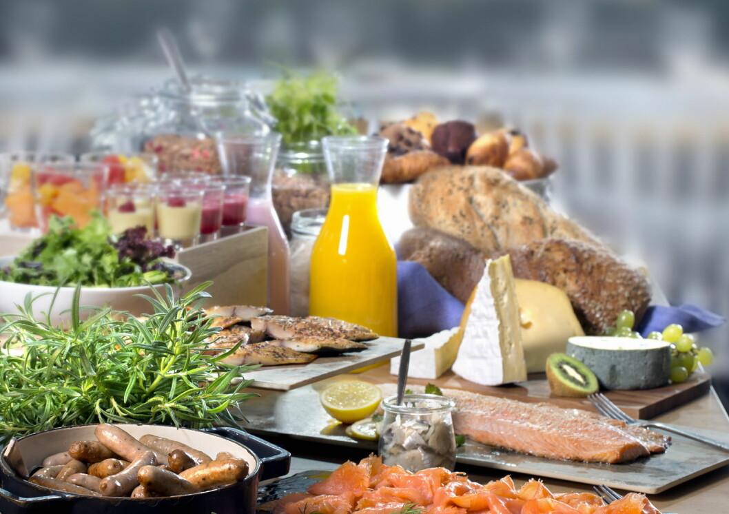 Seks fylkesvinnere i Twinings Best Breakfast er nå klare. (Illustrasjonsfoto: Scandic Hotels))