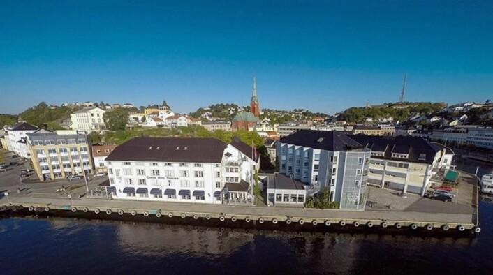Clarion Hotel Tyholmen er fylkesvinner i Aust-Agder. (Foto: Nordic Choice Hotels)