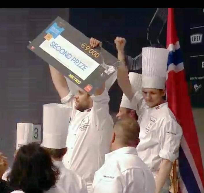 Sølv til Norge i Bocuse d'Or Europe 2016 i Budapest.