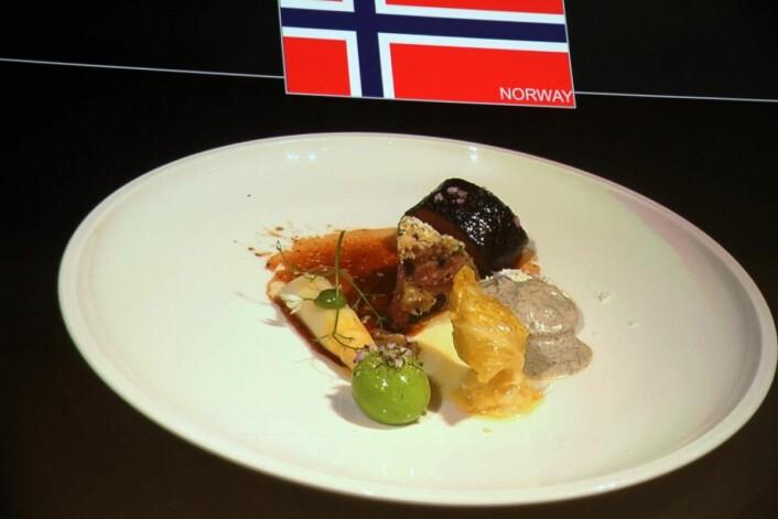 Norges kjøttrett - på tallerken.