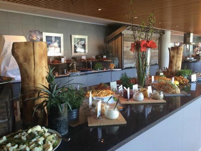 Fra frokostbuffeen på Scandic Nidelven, som har vært markante i frokostkåringen siden 2005. (Foto: Scandic Hotels)