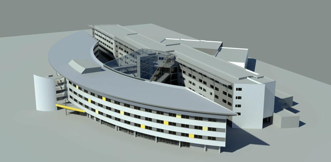 """Slik blir """"nye"""" Quality Airport Hotel Gardermoen."""