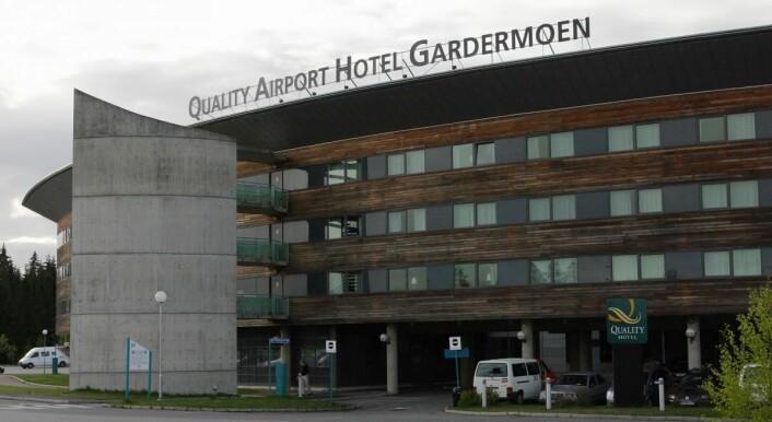Quality Airport Hotel Gardermoen i dag. (Foto: Morten Holt)