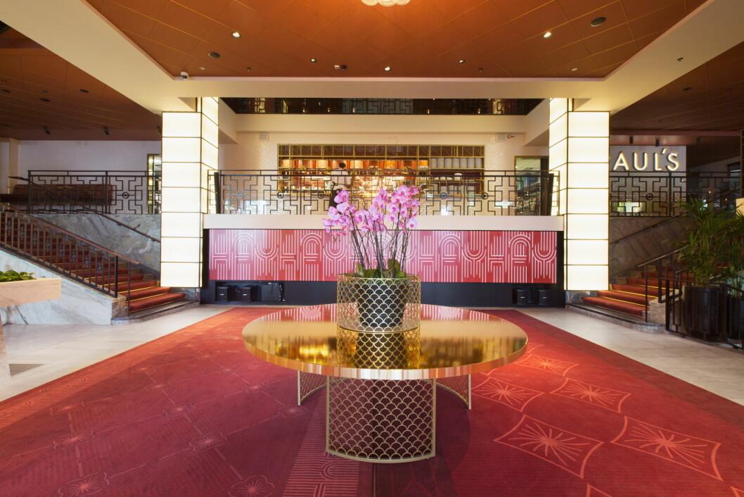 Fra nye Scandic Haymarket i Stockholm. (Foto: Scandic Hotels)