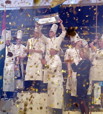 Gulldryss over Ungarn. (Foto: Bocuse d'Or)