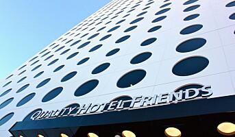 Kåret til beste hotell i Quality Hotels