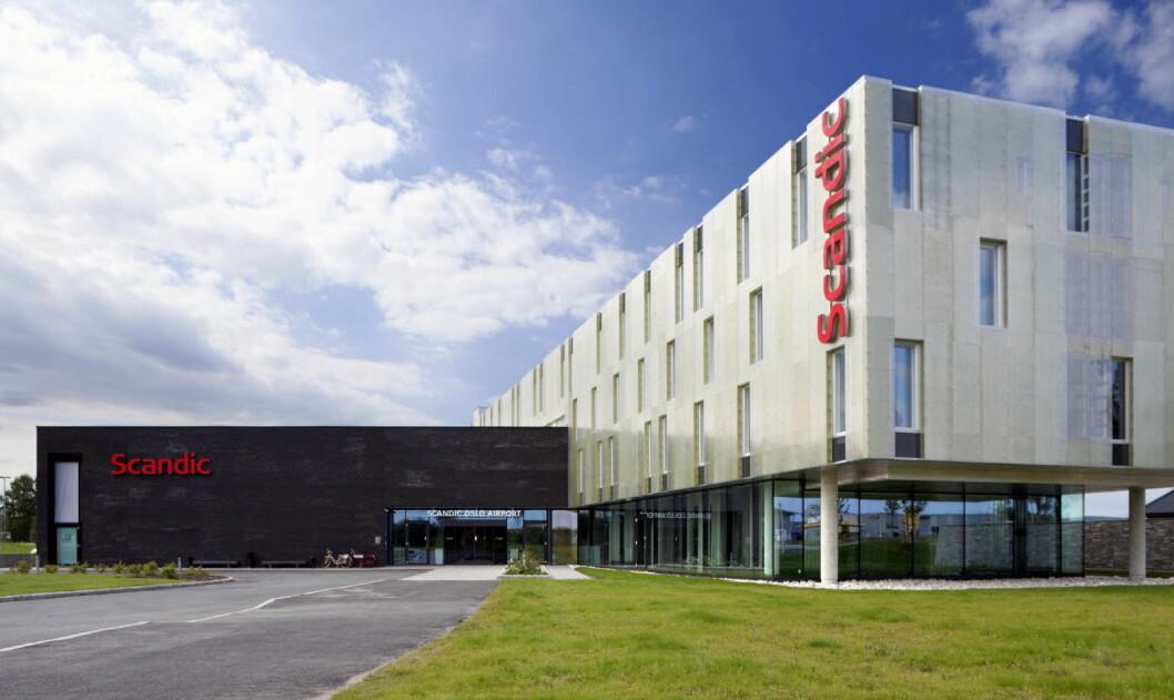 Scandic Oslo Airport er fylkesvinner i Akershus. (Foto: Scandic Hotels)