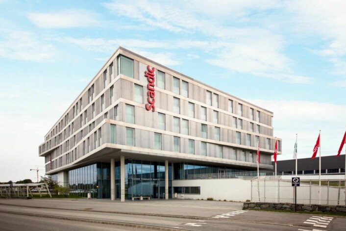 Scandic Stavanger Airport Hotel er fylkesvinner i Rogaland. (Foto: Scandic Hotels)