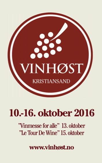 VinHøst arrangeres i oktober.