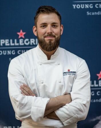 Nikolaj Schmidt Skadborg skal representere Skandinavia i den internasjonale finalen av S. Pellegrino Young Chef 2016. (Foto: Jens Bredberg)