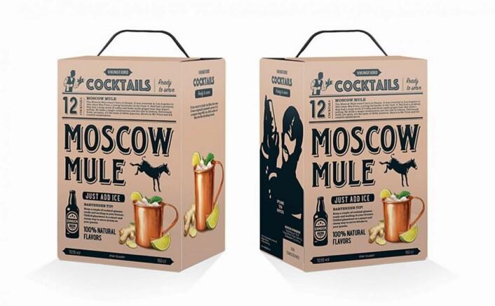 Ferdigblandet Moscow Mule fra Arcus.